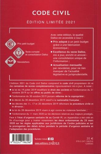 Code civil annoté  Edition 2021