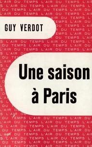 Guy Verdot - Une saison à Paris.