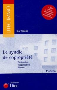 Guy Vigneron - Les syndic de copropriété.