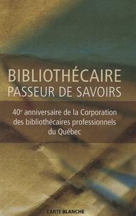 Guylaine Beaudry et Madeleine Beaudoin - Bibliothécaire : passeur de savoirs.
