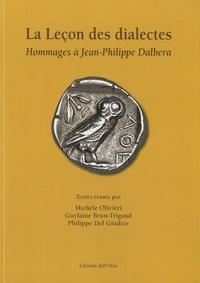 Guylaine Brun-Trigaud - La leçon des dialectes - Hommage à Jean-Phillippe Dalbera.
