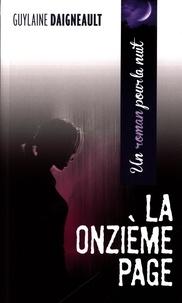 Guylaine Daigneault - La onzième page.