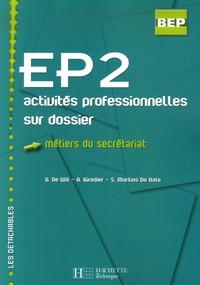 Deedr.fr EP2 métiers du secrétariat - Activités professionnelles sur dossier Image