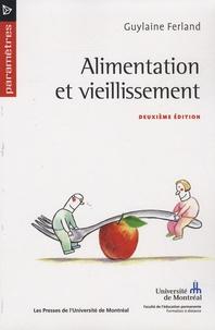 Guylaine Ferland - Alimentation et vieillissement.