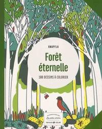 Guylaine Moi - Forêt éternelle - 100 dessins à colorier.