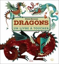 Gwen Keraval - Dragons - Un livre à toucher.