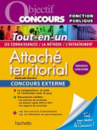 Gwénaël Gonnin - Attaché territorial - Concours externe.