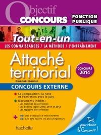 Gwénaël Gonnin - Objectif Concours - Tout en Un - Attaché territorial Concours Externe.
