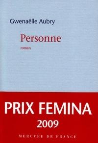 Gwenaëlle Aubry - Personne.