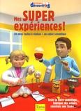 Gwenaëlle Aznar et  Collectif - Mes super expériences ! - 50 idées faciles à réaliser + un cahier scientifique.