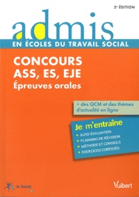 Gwenaëlle Taloc - Concours ASS, ES, EJE - Epreuves orales.