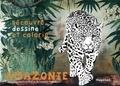 Gwenaëlle Trolez - Amazonie - Cahier de coloriage.