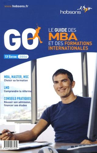 Gwénolé Guiomard - Guide des MBA et des formations internationales.