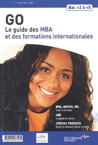 Gwénolé Guiomard - Le guide des MBA et des formations internationales 2004.