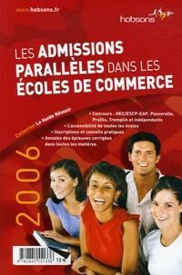 Gwénolé Guiomard et Christina Gierse - Les admissions parallèles dans les écoles de commerce.