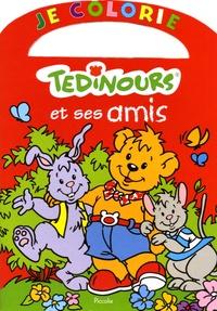 H Chiquet et J Zurek - Je colorie Tedinours et ses amis.
