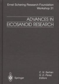 H-D Perez et  Collectif - Advances in Eicosanoid Research.