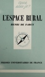 H de Farcy - L'Espace rural.