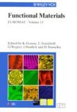 H Hanselka et G Wegner - Euromat - Volume 13, Functional Materials.