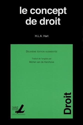Le concept de droit 2e édition revue et augmentée