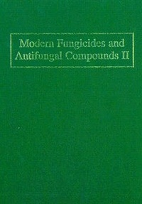 H. Lyr - Modern fungicides and antifungal compounds II, 12th int. Reinhardsbrunn symposium May 24th - 29th 1998, Berg Hotel, Freidrichroda, Thuringia, Germany.