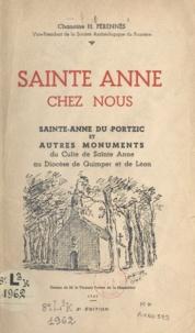 H. Pérennès et  Frotier de la Messelière - Sainte Anne chez nous - Sainte Anne du Portzic et autres monuments du culte de sainte Anne au diocèse de Quimper et de Léon.