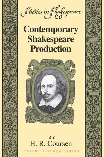 H.r. Coursen - Contemporary Shakespeare Production.