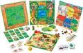 HABA - Coffret multi-jeux Mon premier trésor de jeux / 10 jeux
