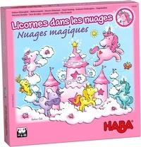 HABA - Jeu Licornes dans les nuages - Nuages magiques