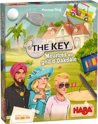 HABA - Jeu The Key- Meurtres au Golf d'Oakdale