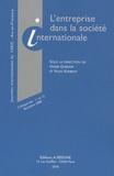 Habib Gherari et Yann Kerbrat - L'entreprise dans la société internationale - Colloque des 11 et 12 décembre 2008.