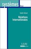 Habib Gherari - Relations internationales.