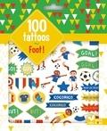 Monsieur Dupont - 100 tattoos foot.