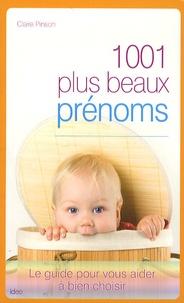 Claire Pinson - 1001 plus beaux prénoms.