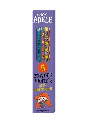5 crayons mortels anti-nazebroques Mortelle Adèle