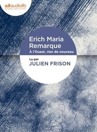 Erich Maria Remarque - À l'Ouest, rien de nouveau. 1 CD audio MP3