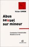 Victor Simon - Abus sexuel sur mineur.