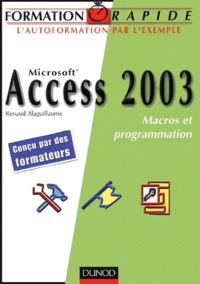 David Alaguillaume - Access 2003 - Macros et programmation.