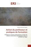 Moussa Mohamed Sagayar - Action du professeur et pratiques de formation.