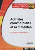 Jean-Claude Arnoldi et Guy Van Assche - Activités commerciales et comptables BEP secrétariat/comptabilité - CD-ROM pédagogique.