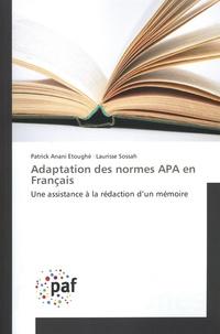 Adaptation des normes APA en Français - Une assistance à la rédaction dun mémoire.pdf