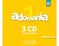 Hachette - Adomania 1 A1. 3 CD audio