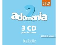 Céline Himber et Corina Brillant - Adomania 2 A1-A2 - Méthode de français. 3 CD audio