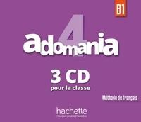 Fabienne Gallon et Céline Himber - Adomania 4. 3 CD audio