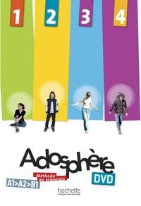 Hachette FLE - Adosphère 1 2 3 4. 1 DVD