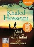 Khaled Hosseini - Ainsi résonne l'écho infini des montagnes. 2 CD audio MP3