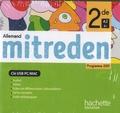 Hachette Education - Allemand 2de A2>B1 Mitreden. 1 Clé Usb