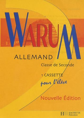 Hachette - Allemand 2e - Cassette pour l'élève.