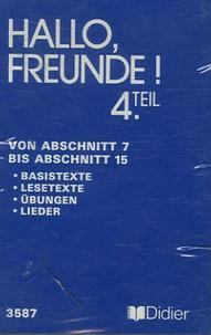 C Laureau et Jean Zehnacker - Allemand 4e LV2 - Cassette audio Von Abschnitt 7 bis Abschnitt 15.
