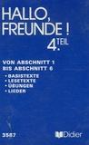 Jean-François Recalde et Jean Zehnacker - Allemand 4e LV2 - Cassette audio Von Abschnitt 1 bis Abschnitt 6.